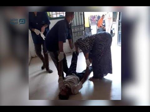 إلقاء مريض خارج مستشفى كفر الزيات العام والصحة تفتح تحقيقًا