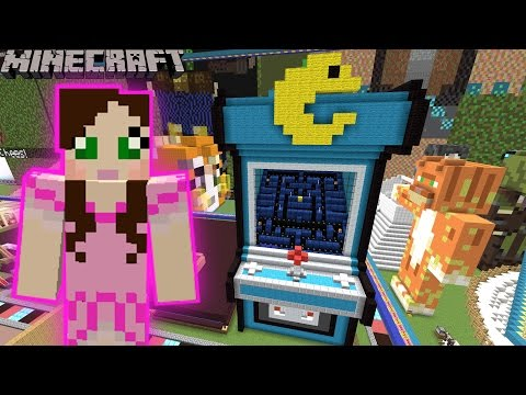 Minecraft: PACMAN GAME - FUN TIME PARK [13]