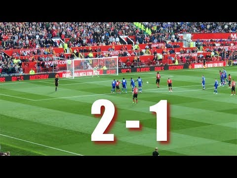 Manchester United V Leicester City, Premier League, 10 Aug 2018 The Match