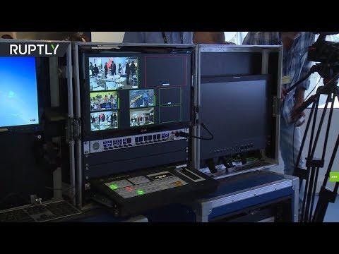 ВАмстердаме представили российский передвижной портативный телевизионный комплекс