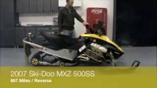 1. 2007 Ski-Doo MXZ 500SS REV