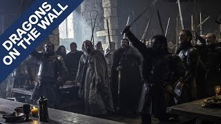 Game of Thrones - There Might Be More Struggle Over Who Rules the North - Dragons on the Wall by IGN