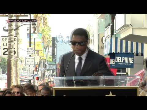 Kenny Babyface Edmonds Walk of Fame Ceremony