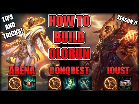 How to Build and Play Olorun - Smite - Complete Guide