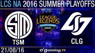 Demi-finale 2 - LCS NA Summer Split 2016 - Playoffs