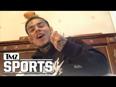 Tekashi69 Says Cristiano Ronaldo Can't Score on Him   TMZ Sports