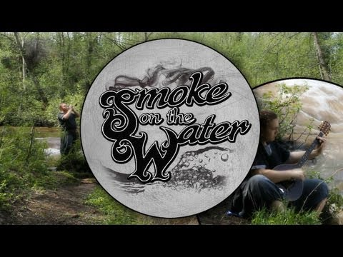 Smoke On The Water (folk cover)