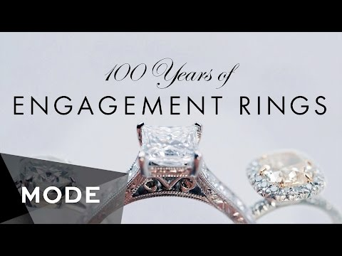 100 Years of Engagement Rings ★ Mode.com