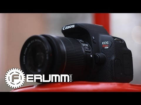 Canon EOS 700D 18-55 kit видеообзор. Обзор фотоаппарата Canon EOS 700D 18-55 kit от FERUMM.COM (видео)