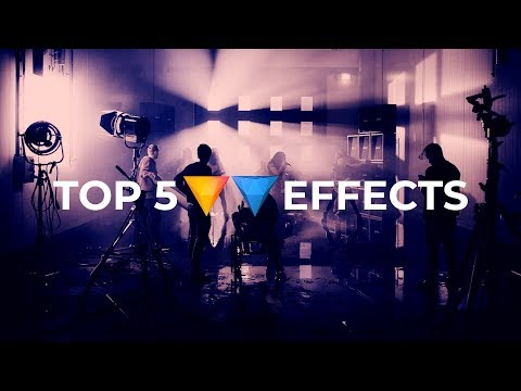 Top 5 Effects you NEED to know about! (Hitfilm)