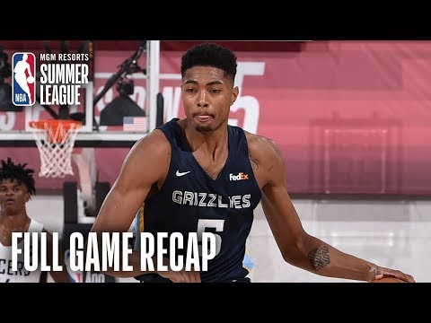 Video: GRIZZLIES vs PACERS | Caboclo & Evans Lead MEM Past IND | MGM Resorts NBA Summer League