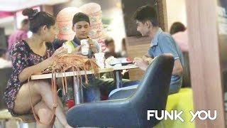 Video Girl Eating Stranger's Food Prank by Funk You MP3, 3GP, MP4, WEBM, AVI, FLV November 2017