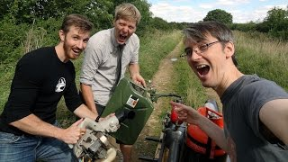 Messing Around with Colin Furze & The Hacksmith | James Bruton