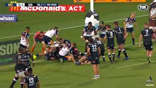 Brumbies v Sharks Rd.5 2018 Super Rugby video highlights