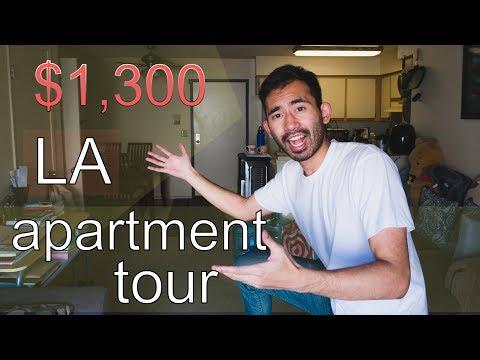พาทัวร์อพาร์ทเมนท์ใน LA ค่าเช่าเดือนละ $1,300