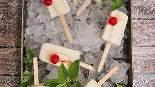 Pina Colada Popsicles by Laura in the Kitchen