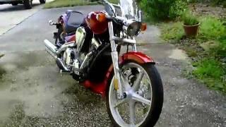 9. Honda VT1300 Sabre Stock Exhaust