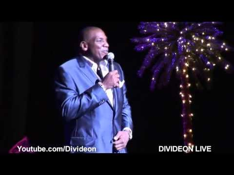 Comedian Don DC Curry. Drunk with nothing but a mic & an empty room.