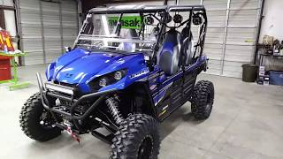 """10. 2018 Teryx-4 """"Hester Edition"""" Long Travel, sound system, tricked out!"""