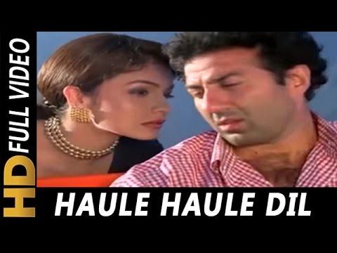 Video Haule Haule Dil Dole | Udit Narayan, Alka Yagnik | Angrakshak 1995 Songs | Sunny Deol, Pooja Bhatt download in MP3, 3GP, MP4, WEBM, AVI, FLV January 2017