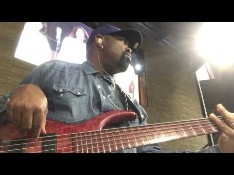 Andrew Gouché Sunday Morning Church Flow MTD Signature 6 String Bass 8/2/15