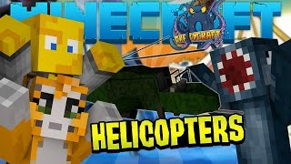 Minecraft - Crazy Craft 2.2 - Helicopters! [13]
