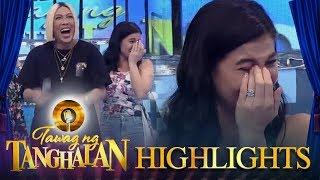 Video Tawag ng Tanghalan: Anne cries after laughing so hard! MP3, 3GP, MP4, WEBM, AVI, FLV Desember 2018