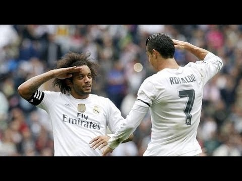 Marcelo First and Last Goals for Real Madrid