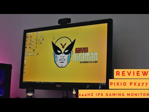 Pixio PX277 27-inch 144Hz IPS Gaming Monitor!!!