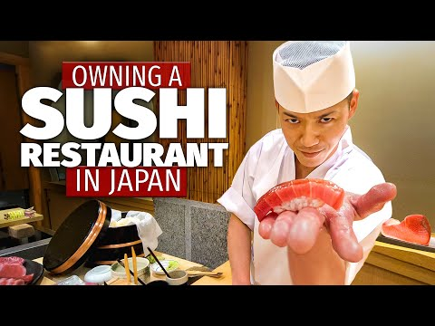 What Owning a Sushi Restaurant in Japan is Like