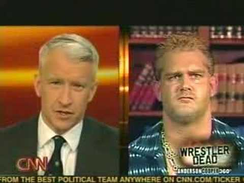 Anderson Cooper talks about Chris Benoit