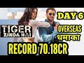 TIGER ZINDA HAI BOX OFFICE COLLECTIONS DAY 6 | OVERSEAS | SALMAN KHAN