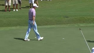 Brandt Snedeker pours in a 25-footer at the TOUR Championship by PGA TOUR