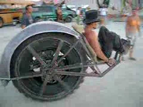 Riot Wheel Clockworker Steampunk