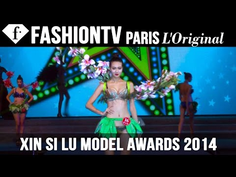 fashiontv - http://www.FashionTV.com/videos XIN YUAN - Gorgeous models compete in flowing gowns, traditional dress and sexy swimwear at the Xin Si Lu Model Awards. runway in China. For franchising ...