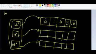 Dynamic 2D arrays - 1