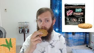 Marijuana Edible Review: Milf N' Cookies Peanut Butter Cookie 200 mg by  Weeats Reviews