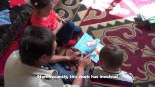 Reading for Children in Kyrgyzstsan - A project of the Aga Khan Foundation.