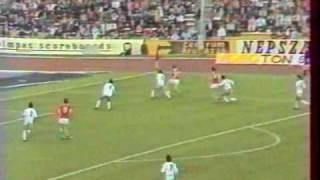 Tibor Nyilasi trifft gegen Zypern
