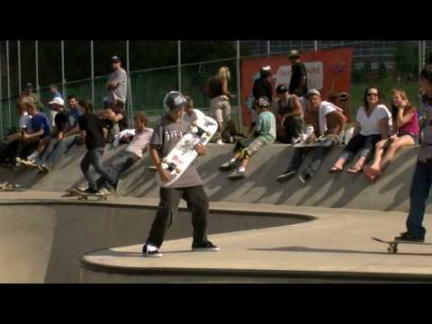 1st Annual Reid Menzer Memorial skatepark celebration 2009