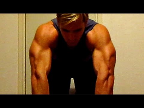 Triceps Workout at Home (without weights/gym equipment)