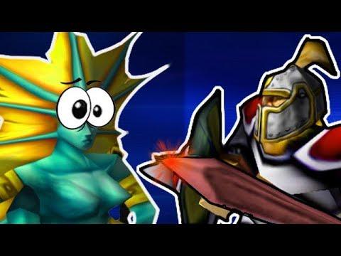 Пушим героями в Warcraft 3!