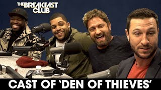 Video 50 Cent, Gerard Butler, O'Shea Jackson Jr. + Pablo Schreiber Tear Up The Breakfast Club MP3, 3GP, MP4, WEBM, AVI, FLV Januari 2018
