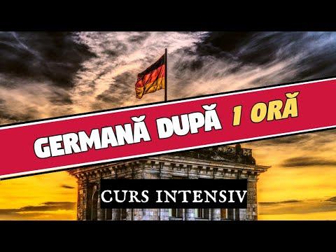 Vorbeste germană după o ORĂ! Curs Intensiv pentru începători