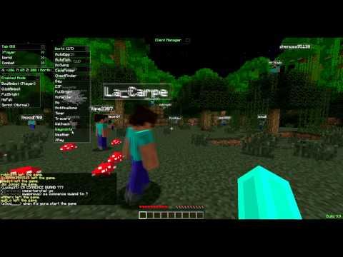Minecraft – Hack Para Servidores Multijugador – Free Server Tool Hack