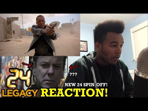 24: Legacy Trailer REACTION!