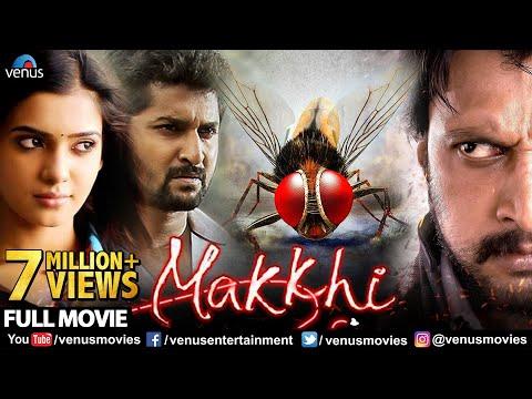 Makkhi Full Hindi Dubbed Movie | Hindi Movies | Sudeep | Nani | Samantha | Hindi Dubbed Movies