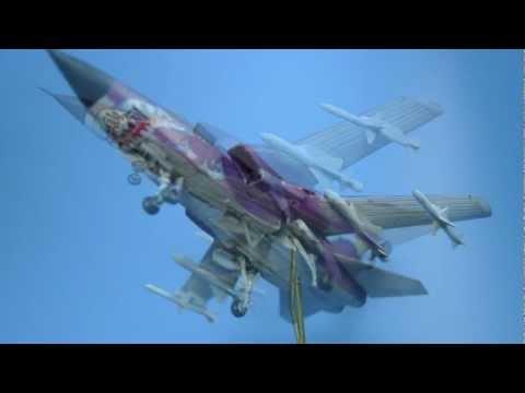 Academy 1/144 panavia Tornado built...