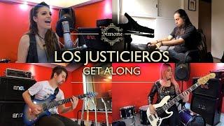 Video LOS JUSTICIEROS / Get along (Cover latino) MP3, 3GP, MP4, WEBM, AVI, FLV Februari 2018