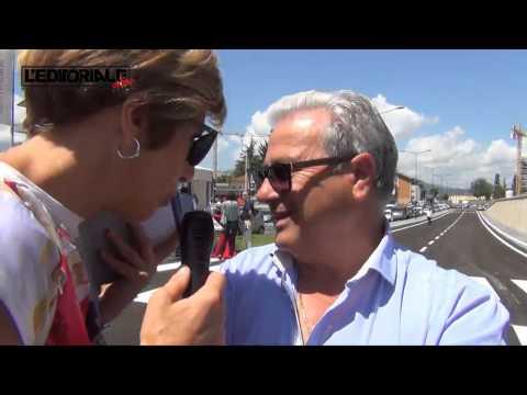 Inaugurazione nuova viabilità Viale Corrado IV